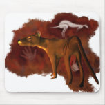 Extinct Forever - Thylacine or Tasmanian tiger Mousepads