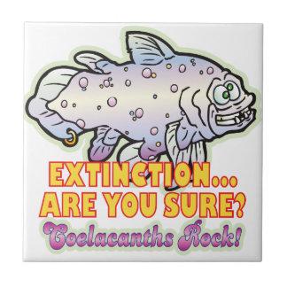 Extinction Coelacanth Ceramic Tiles