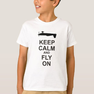 Extra Aircraft Keep Calm and Fly On T-Shirt