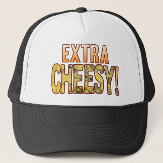 Extra Blue Cheesy Trucker Hat