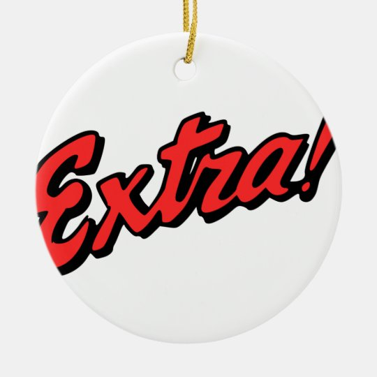 Extra! Exclusive Christmas Ornament