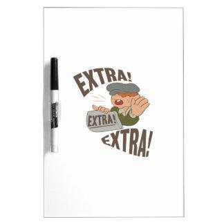 Extra Extra Dry Erase Board