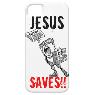 Extra, extra! Jesus Saves!! Barely There iPhone 5 Case