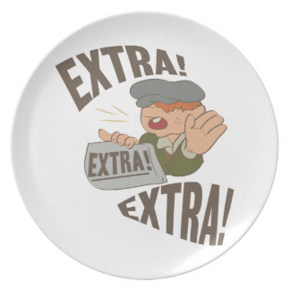 Extra Extra Party Plate