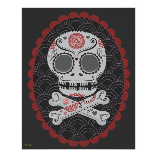 Extra Large Day of the Dead Sugar Skull