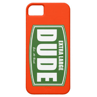 Extra Large Dude Established at Birth iPhone 5 Covers