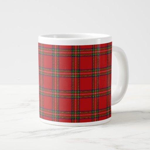Extra Large Royal Stewart Tartan Tea/Coffee Mug Extra Large Mug