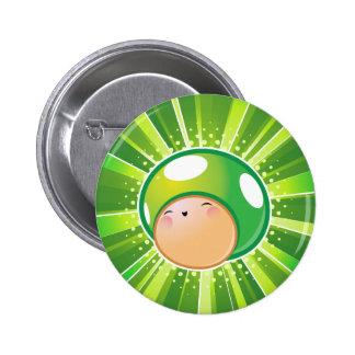 Extra Life Mushroom 6 Cm Round Badge