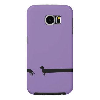 Extra Long Dachshund Samsung Galaxy S6 Cases