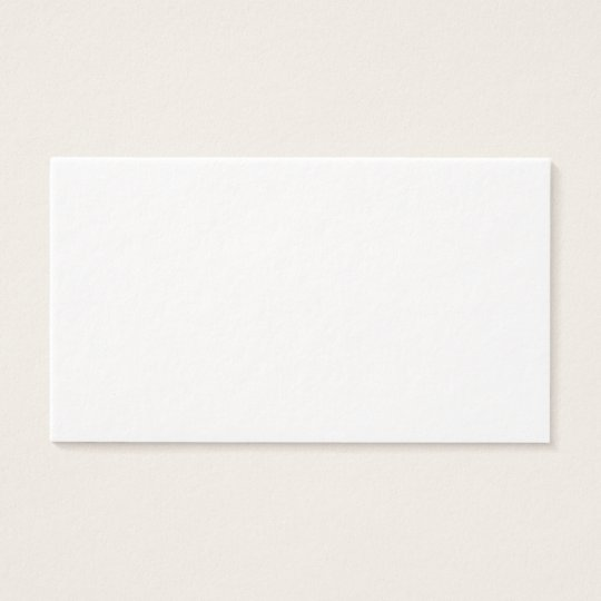 Extra Thick Blank Paper Business Cards