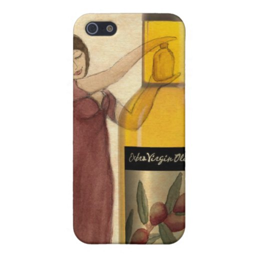 Extra Virgin Olive Oil (EVOO) iPhone Case Cases For iPhone 5