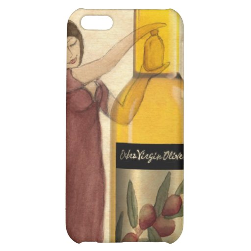 Extra Virgin Olive Oil (EVOO) iPhone Case Case For iPhone 5C