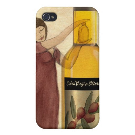 Extra Virgin Olive Oil (EVOO) iPhone Case iPhone 4/4S Covers