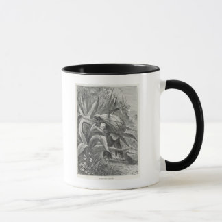 Extracting Pulque Mug