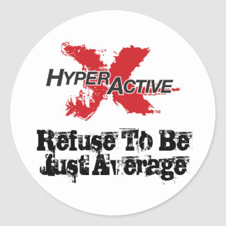 ExtraHyperActive Motivational Sticker