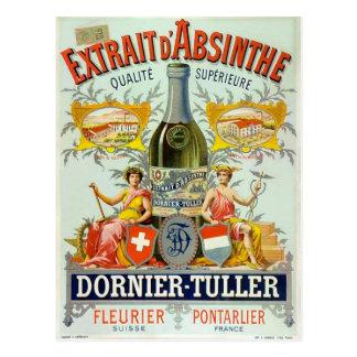 Extrait d Absinthe Vintage Poster Art Postcards