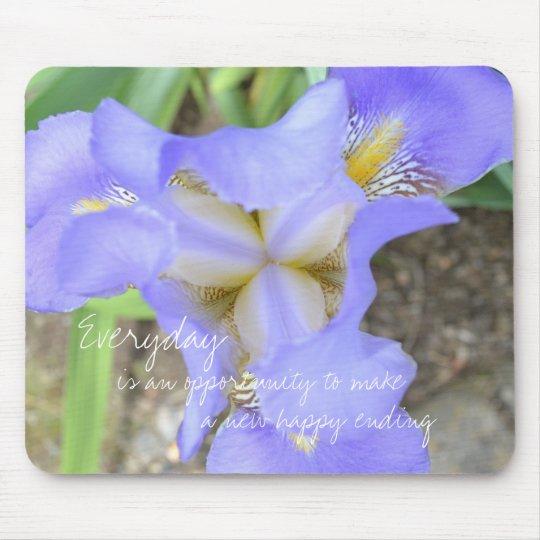 Extraordinary Iris Mouse Pad