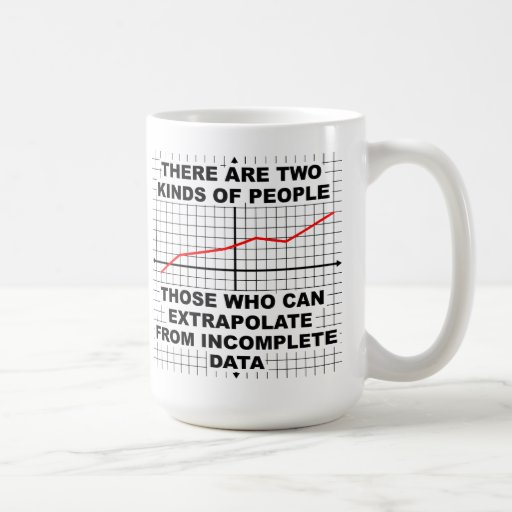 Extrapolate from Incomplete Data Mug