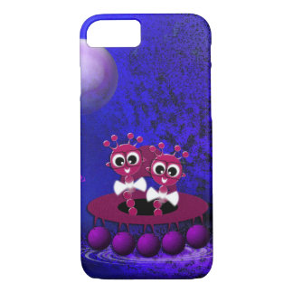 Extraterrestial one in the UFO iPhone 8/7 Case