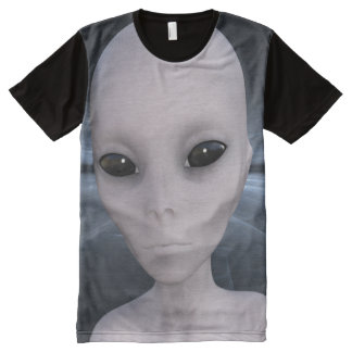 Extraterrestrial Alien All-Over Print T-Shirt