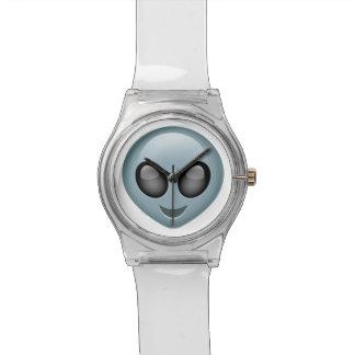 Extraterrestrial Alien Emoji Wristwatches