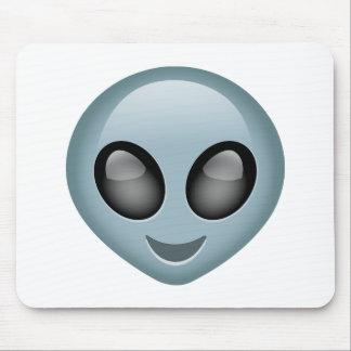 Extraterrestrial Alien Emoji Mouse Pad