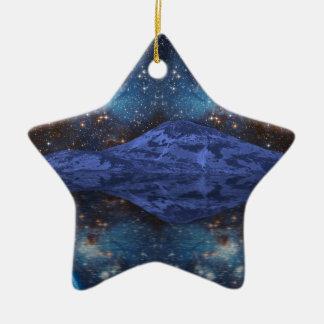 Extraterrestrial Fantasy Ceramic Star Decoration