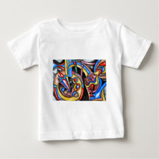 Extraterrestrial Jazz - Abstract Art Baby T-Shirt