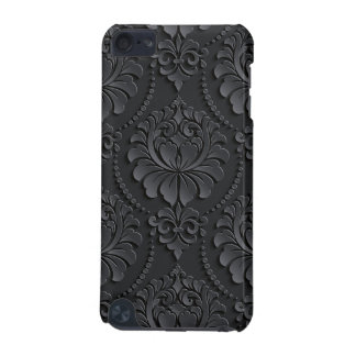 Extravagant black Flower Design iPod Touch (5th Generation) Case