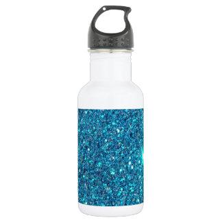 Extravagant Blue Glitter Shine 532 Ml Water Bottle