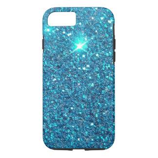 Extravagant Blue Glitter Shine iPhone 7 Case