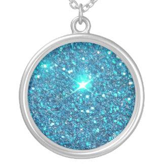 Extravagant Blue Glitter Shine Jewelry