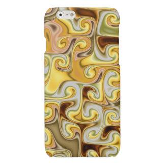 Extravagant golden Fractal Design iPhone 6 Plus Case