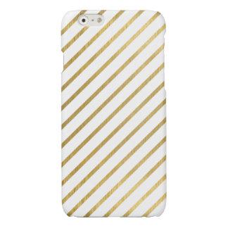 Extravagant golden Stripes Design iPhone 6 Plus Case
