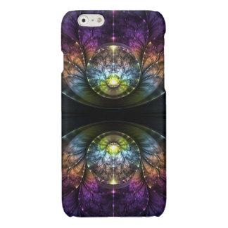 Extravagant purple Fractal Art iPhone 6 Plus Case
