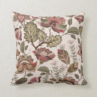 Extravagant red Flower Pattern Design Cushion