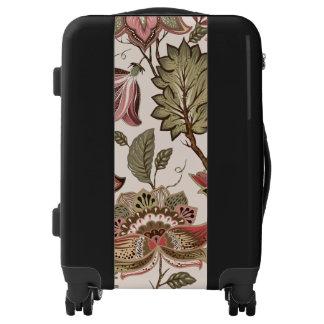 Extravagant red Flower Pattern Design Luggage