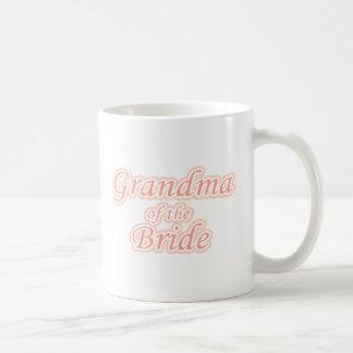 Extravaganza Grandma of Bride Basic White Mug