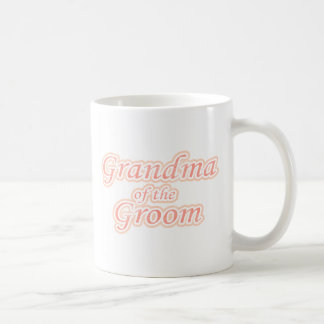 Extravaganza Grandma of Groom Classic White Coffee Mug