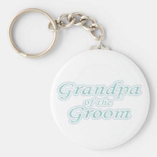 Extravaganza Grandpa of Groom Keychains