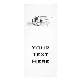 extreme aggressive soccer ball biting net rack card