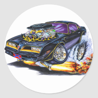 Extreme Bandit Trans Am Classic Round Sticker