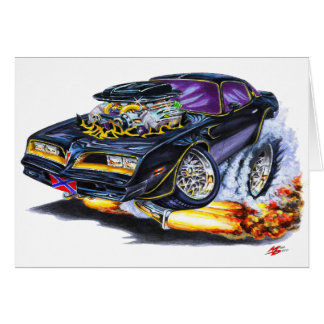 Extreme Bandit Trans Am Greeting Card
