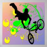 Extreme Biking Poster