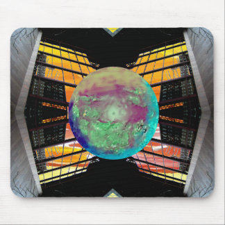 Extreme Designs Colorful Geometric Bold Dramatic Mouse Pad