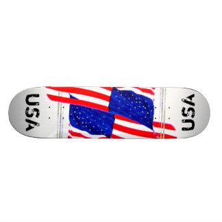 Extreme Designs Skateboard Deck USA 2 CricketDiane