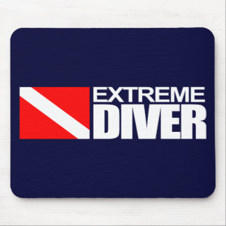 Extreme Diver 4 Mouse Pad