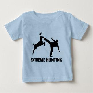 Extreme Hunting Deer Karate Kick Baby T-Shirt