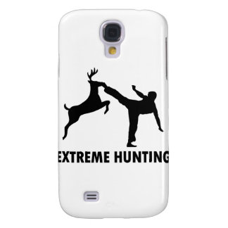 Extreme Hunting Deer Karate Kick Samsung Galaxy S4 Covers