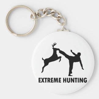Extreme Hunting Deer Karate Kick Key Ring